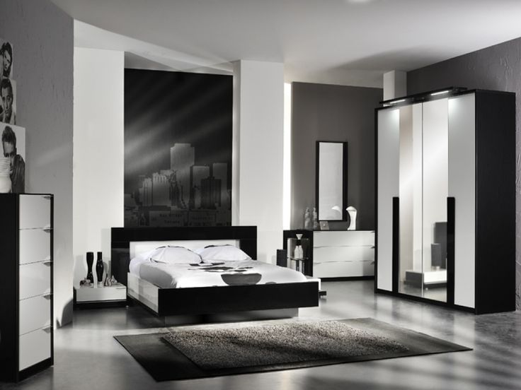Black And White Bedroom Furniture Sets | Black And White Bedroom Ideas |  Pinterest | White Bedroom Furniture, Furniture Sets And White Gloss Bedroom  ...