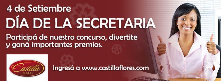 DIA DE LA SECRETARIA EN CASTILLA FLORES