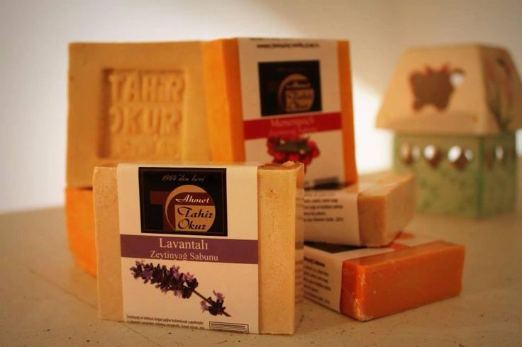 Natural olive oil soaps.  Our olive oil soap, there are 20 varieties.  Some of them are lavender, roses, juniper tar, Terebinth