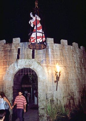 the first maze, dungeon of terror at fright nights, 1991