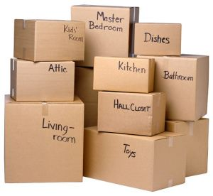 Custom Moving Boxes