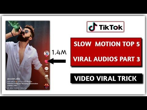 How To Make Fast Slideshow Videos Using The Tiktok Templates 2021
