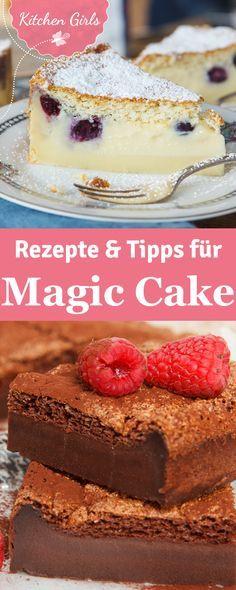 Erfahre, was das Besondere an Magic Cake ist! Wir verraten dir, wie du ihn ganz einfach selber backen kannst!