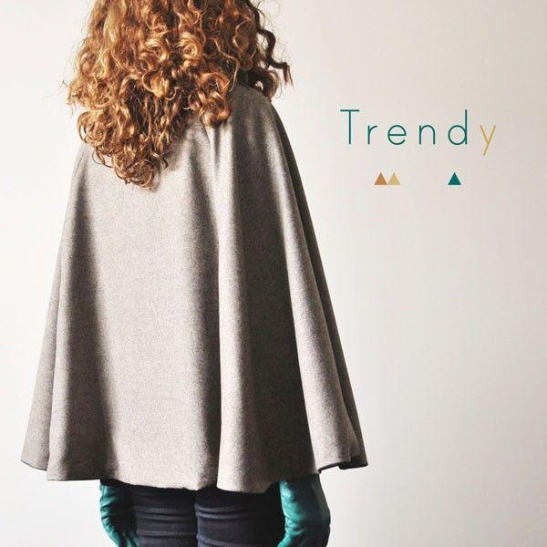 Patron de la Trendy [Cape] - Vanessa Pouzet