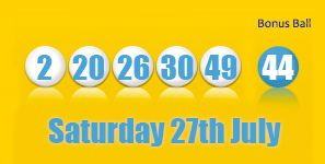 Health Lottery Results Saturday 27th July http://health-lottery.org/health-lottery-results-saturday-27th-july/