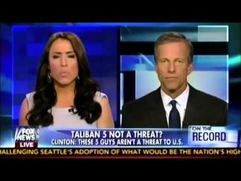 "WATCH Republican Senator Rip Apart Hillary's Latest Delusional Comments 6-13-14 US Sen. John Thune from South Dakota ""I think we're missing the big picture..."" he addresses hill's remarks on the 5 taliban terrorists    Email 	TOM..."