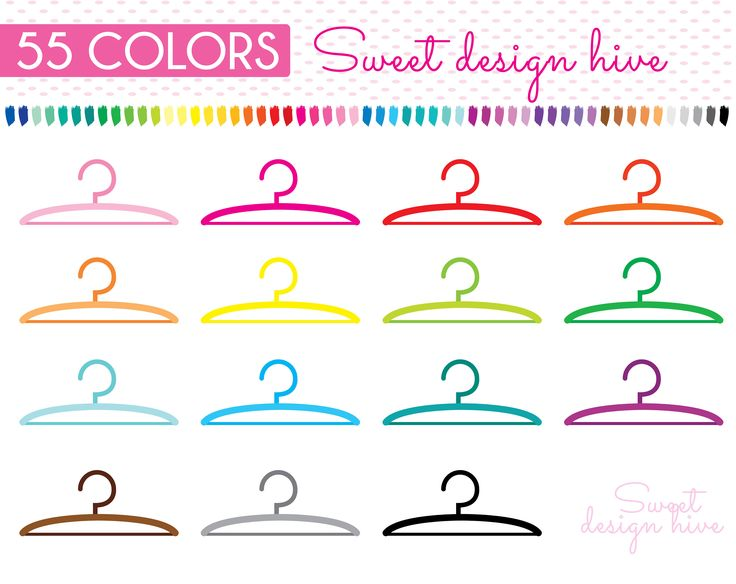 Hangers clipart, Chore Clipart, laundry clipart, Planner Stickers, scrapbooking, Commercial Use, PL0052 by Sweetdesignhive on Etsy