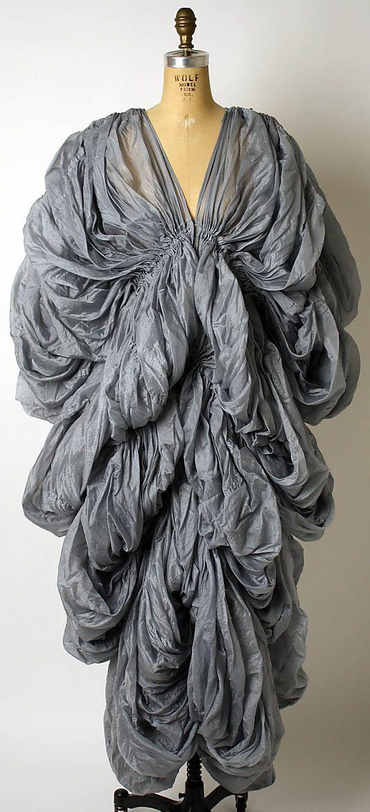 Dress, Evening, Norma Kamali  (American, born 1945)   Date: 1977 Culture: American Medium: silk, nylon