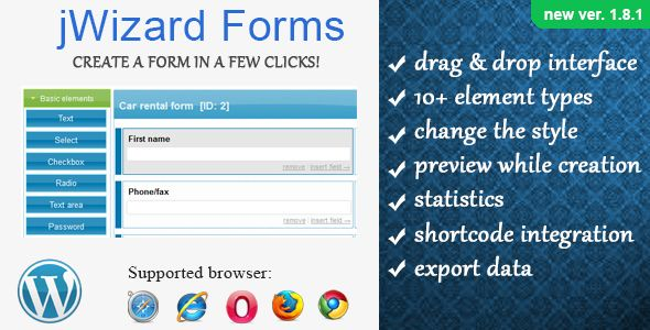 Deals jWizard Forms - WordPress Form CreatorWe have the best promotion for you and if you are interested in the related item or need more information reviews from the x customer who are own of them before please follow the link to see fully reviews