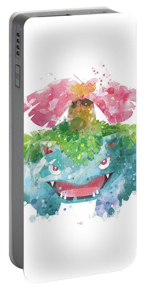 Pokemon Venusaur Portable Battery Charger #pokemon #pokemongo #tech #gaming