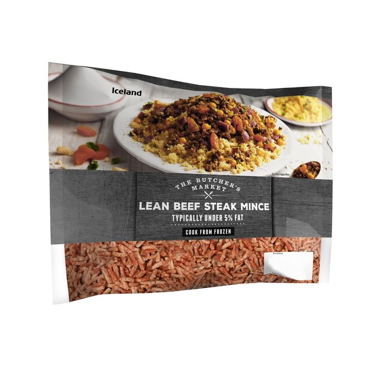 The Butcher's Market Lean Beef Steak Mince Typically 5% Fat 900g