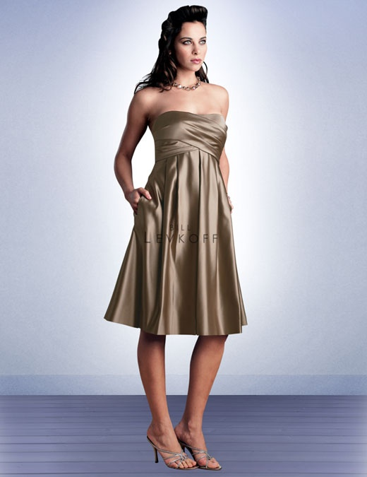 e56ce845e5a Bridesmaid Dress Style 370 - Bridesmaid Dresses by Bill Levkoff-- Has bow  in the back in description