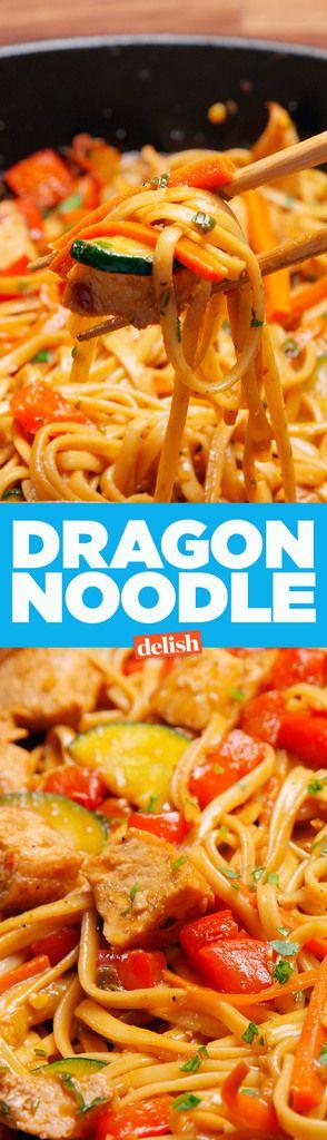 Dragon Noodles  - Delish.com