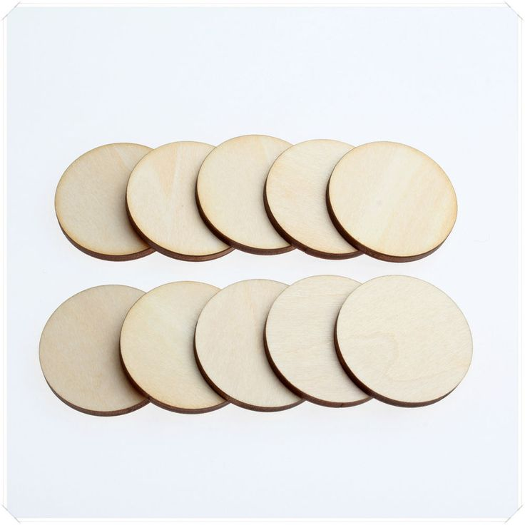 1cm 2cm 3cm Wide WOODEN WOOD CIRCLE ROUND RING CRAFT CARD MAKING SCRAPBOOKING #Handmaking #Embellishments
