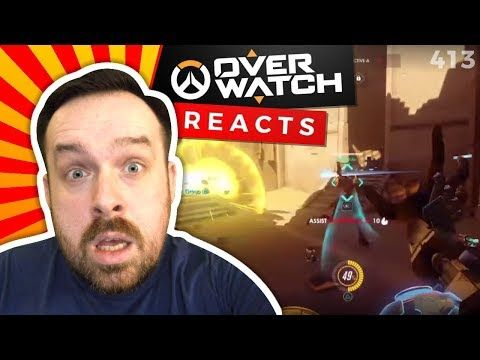 Reaction: Overwatch WTF Moments Ep.52