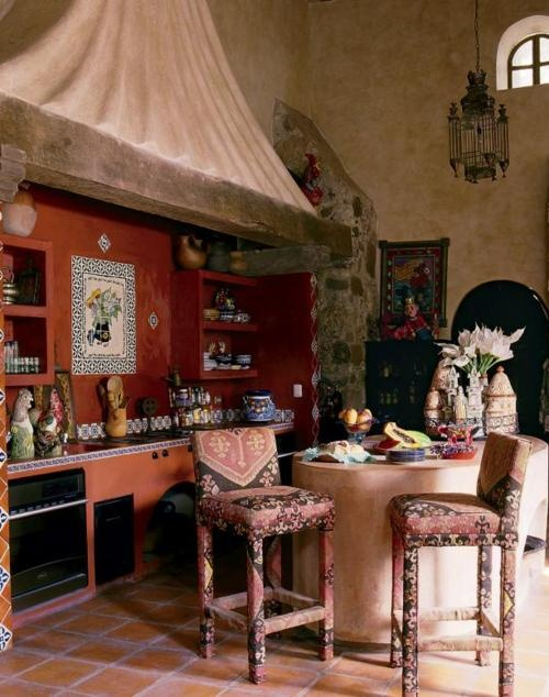 Mini kitchen bohemian style decor pinterest mini for Spanish hacienda style