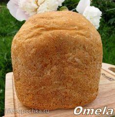 Овсяный хлеб с яблоком в хлебопечке