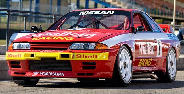 R32 GTR 'GODZILLA'. The king of Australian supercar racing. Sadly the only way for the V8's to beat them, was to ban them.