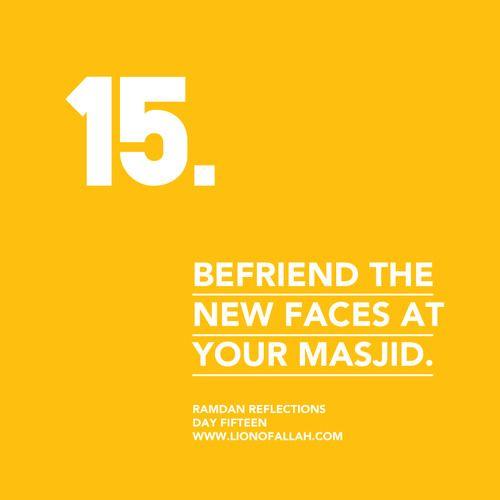 Ramadan Reflections: Day Fifteen