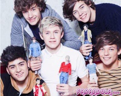 Muñecos de One Direction para sus fans