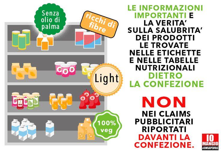 Attenzione alle informazioni riportate sulle confezioni dei prodotti alimentari: non tutte hanno la stessa importanza.