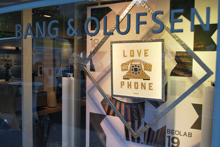 "Maxtin ""LOVE PHONE"" @ Bang & Olufsen Show-Room"