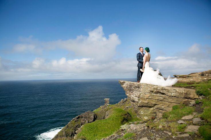 Sara and Kevin Doolin  Elopement  Wedding Hags Head