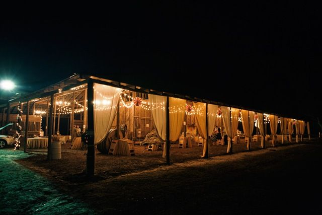 Exactly how I want my reception site to look like, except with a large tent instead.