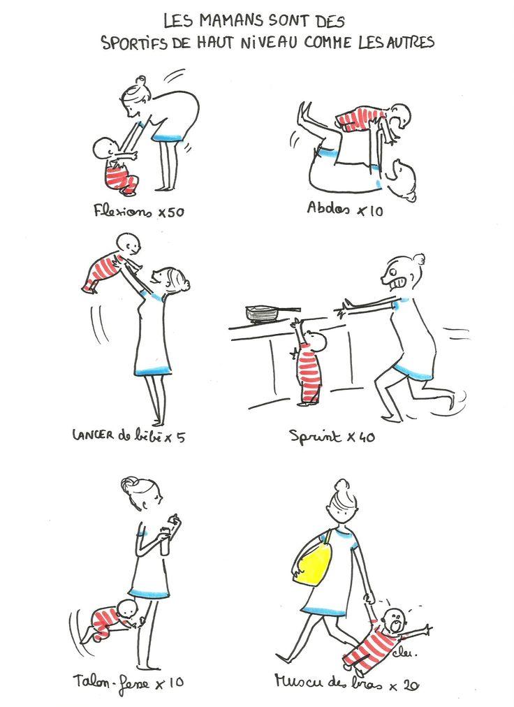 Le sport des mamans - Confidentielles