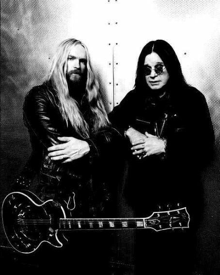 Zakk Wylde and Ozzy Osbourne..........