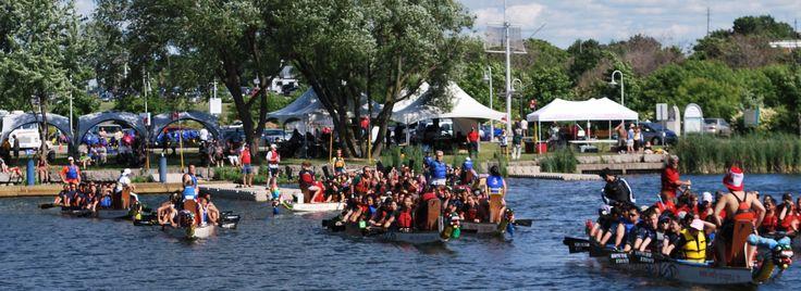 Bayfront Park - Hamilton Waterfest Dragonboat Race Festival