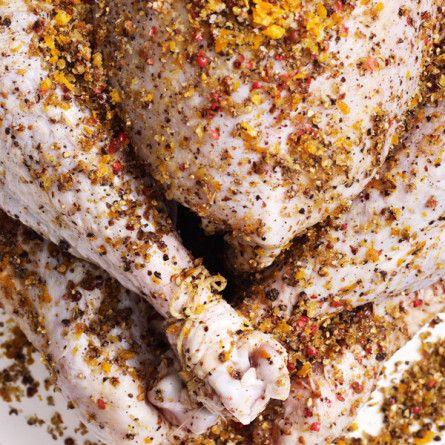 malt beer brined turkey with malt glaze recipe bon appétit bonappetit ...