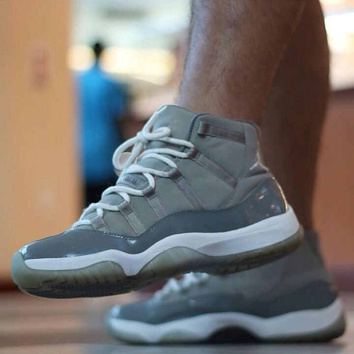 "#STONESWAG feature of the day goes to @mattxcelz @mattxcelz with this dope close up of his Air Jordan ""Cool Grey"" 11s!! Go follow @mattxcelz Now!!  use STONESWAG for a feature daily!!  by davidstone83 #SoleInsider"