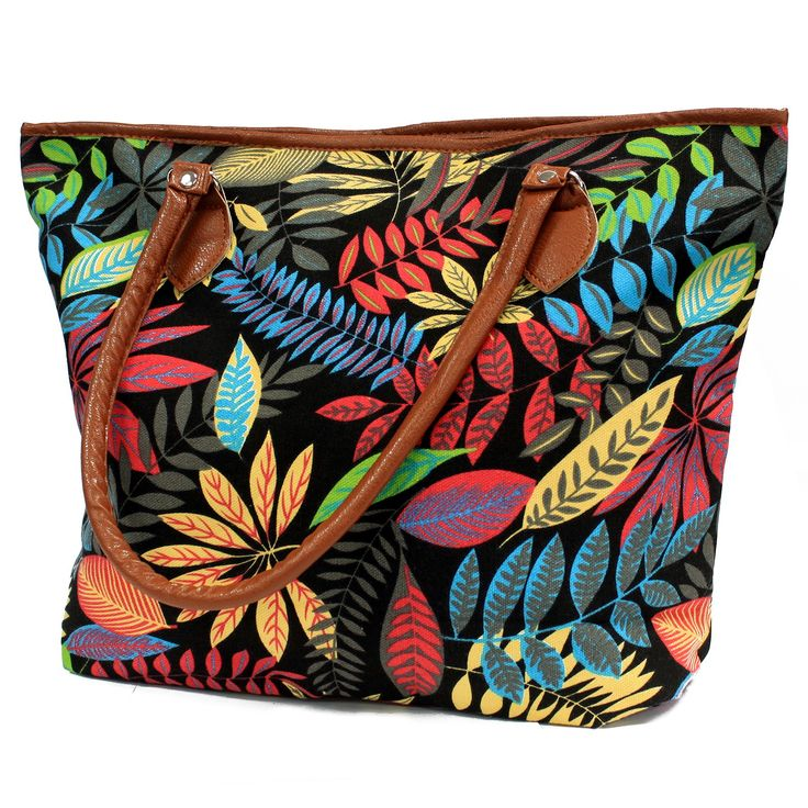 Jungle Bag - Tote Shopping - Black / Orange | Hip AngelsBeautiful Jungle Backpack with two external pockets for those small items and two internal pockets where one comes with a zipper. This backpack is very comfy and its good enough to carry all the school supplies.  #Scarves_wholesale #Bags_wholesale #Jungle_bags #Flowersbags #Backpackwholesale #Big_backpack