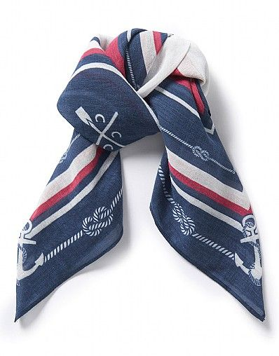Breton Knots Neckerchief Scarf_1