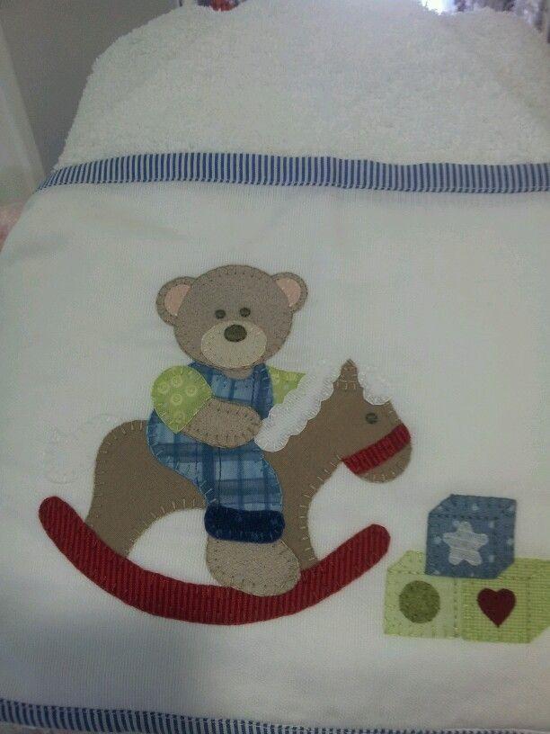 Toalha para bebe