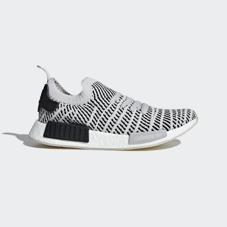 adidas NMD_R1 STLT Primeknit Shoes - Grey | adidas US