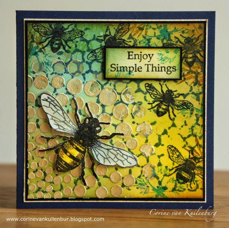 Corine's Gallery. Art Journey Honeybee and Insects