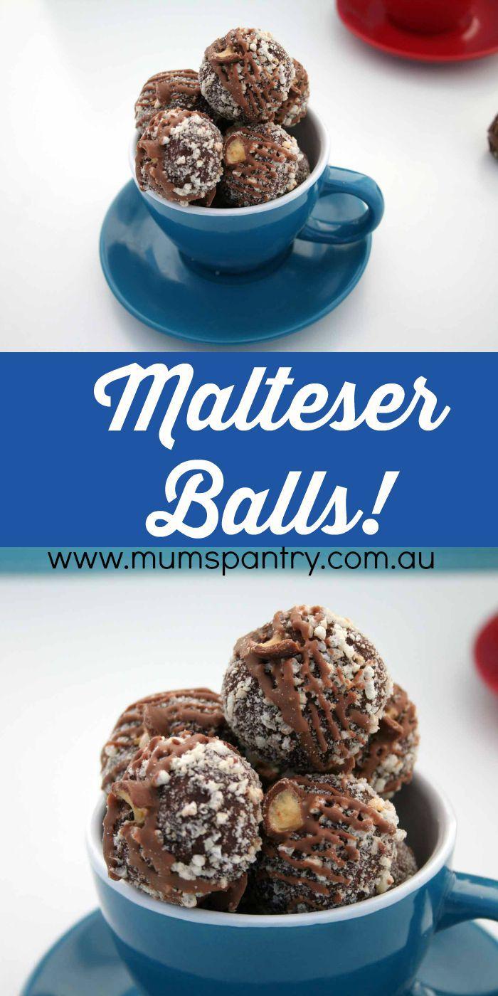 Malteser Balls - Mum's Pantry