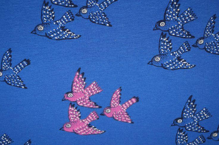 Ptx 15/16 Mies en Moos 964215-11 Tricot vogels kobalt