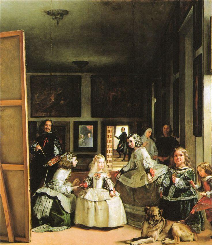 ベラスケス 1656 ラス・メニーナス マドリード・プラド美術館