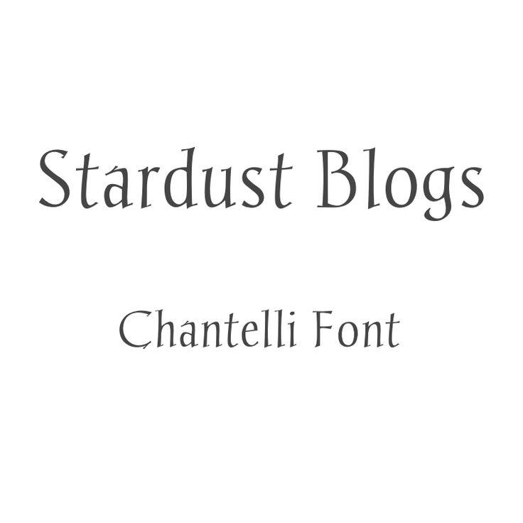 Chantelli Font