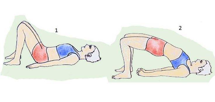 setu-bandhasana for blocked fallopian tubes