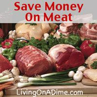 """How do you save when your husband is a meat and potatoes man and meat prices are going up so high?"" I spend $3 or less/lb. for meat. Click here to get these money saving tips and recipes from Dining On A Dime Cookbook http://www.livingonadime.com/store/dining-on-a-dime-cookbook/."