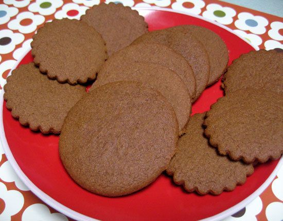 Crispy Gingerbread Cookies : It wouldn't be the holidays without a little gingerbread! This recipe for ginger molasses cookies uses less butter, eggs, and sugar than traditional recipes, and since it's packed with so much spicy flavor, one cookie easily satisfies your sweet craving.