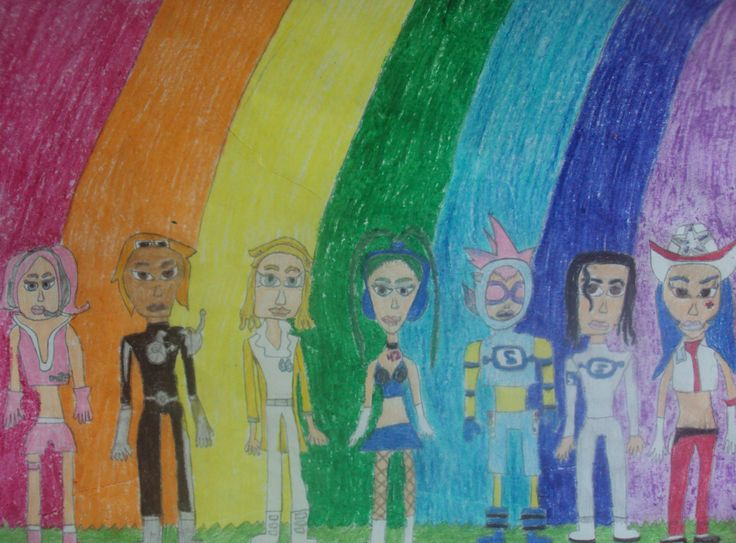 My Space Channel 5 Drawing