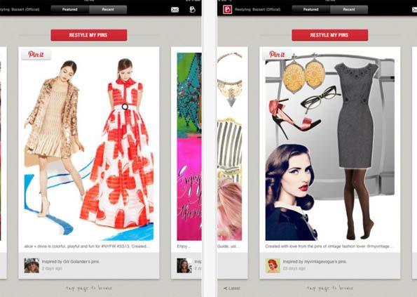 iPad App Bazaart verwandelt Pinterest-Pins in interaktive Kataloge #t3n #bazaart