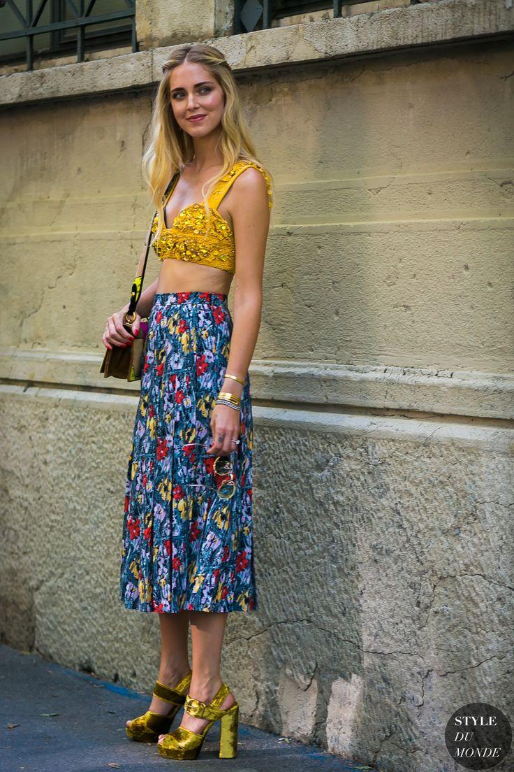 Chiara Ferragni by STYLEDUMONDE Street Style Fashion Photography