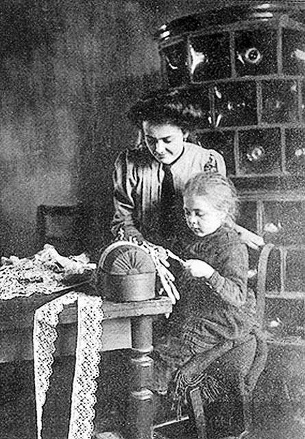 Csipkeverő 1910