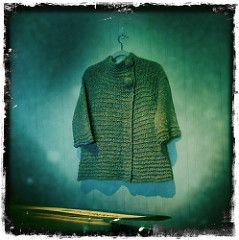 Mona's Jacket pattern by Mags Kandis